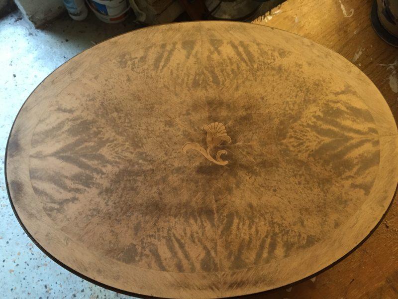 sybord med slipad yta