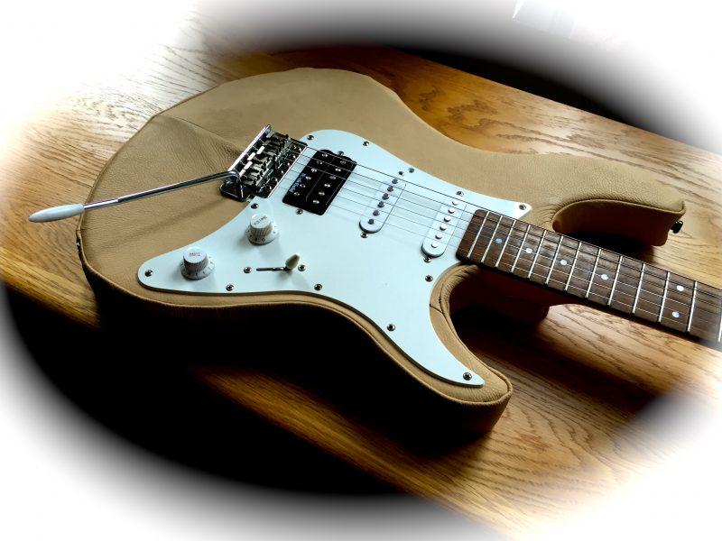 Gitarr i skinn