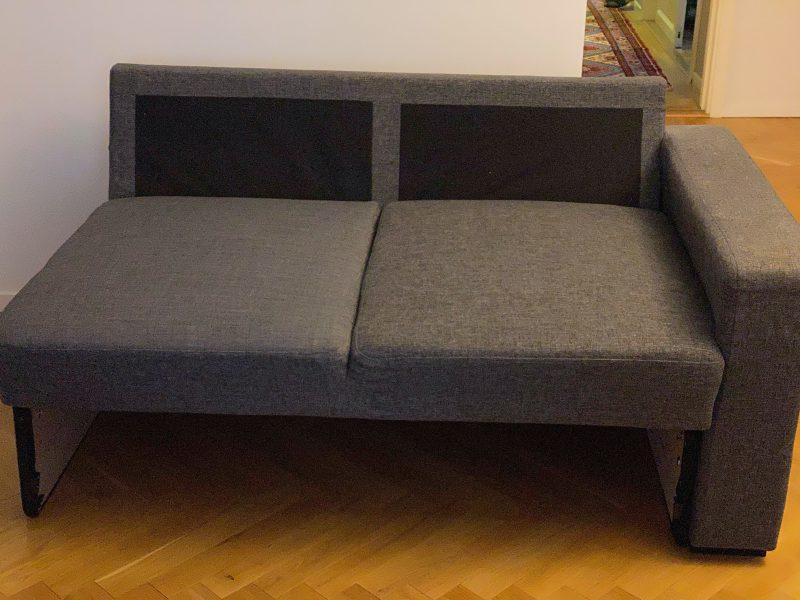 Soffa reparerad